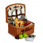 Benton 2 Person Bicnic Basket by Picnic Plus