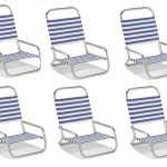 Sun & Sand Beach Chair by Telescope – Set of 6