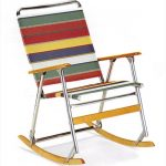 High Back Folding Rocker by Telescope