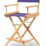Telescope World Famous Counter Height CANVAS Directors Chair
