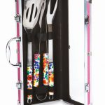 Vesta Women's Barbecue Tool Set w/ Case by Picnic Plus