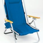 Hi-Back Steel Backpack Chair by Rio Beach