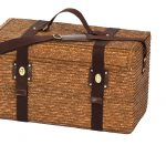 Woodstock 4 Wicker Picnic Basket for 4 by Picnic Plus
