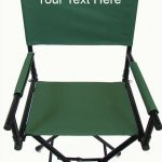 IMPRINTED Tall 30″ Steel Directors Chair