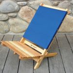 Two Piece Portable Caravan Chair by Blue Ridge Chair