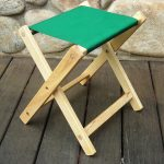 Deluxe Folding Stool by Blue Ridge Chair