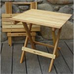 Blue Ridge Wooden Folding Table by Blue Ridge Chair