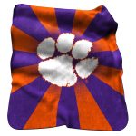 Clemson Raschel Throw