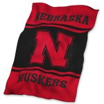Nebraska UltraSoft Blanket
