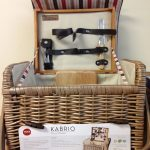 RETURN:  Kabrio Moka Picnic Basket for 2 by Picnic Time