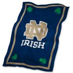 Notre Dame UltraSoft Blanket
