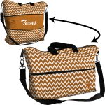 Texas Chevron Expandable Tote