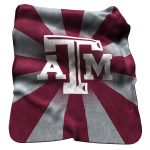 TX A&M Raschel Throw