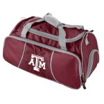 TX A&M Athletic Duffel