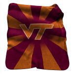 VA Tech Raschel Throw