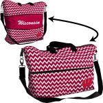 Wisconsin Chevron Expandable Tote