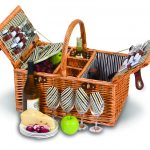 Dilworth 4 Person Picnic Basket by Picnic Plus