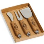 Vintage Cheese Knife Set by Picnic Plus
