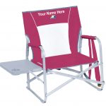 IMPRINTED Slim-Fold Beach Chair by GCI Waterside