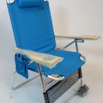4 Position Big Papa Aluminum Chair with Pillow by JGR Copa