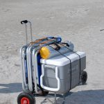 ABOGear Beach Lugger Heavy Duty Carry Cart