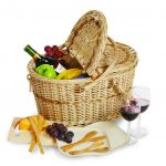 Creston Eco Picnic Basket for 2 by Picnic Plus