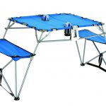 Dalby Portable Soft Table With Seats by Picnic Plus