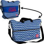 Chicago Cubs Chevron Expandable Tote