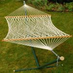 Double Size Cotton Rope Hammock