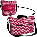 Philadelphia Phillies Chevron Expandable Tote