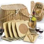 Eco Picnic Basket FOR 4 by Picnic Plus
