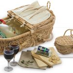 Eco Wine & Cheese Basket by Picnic Plus