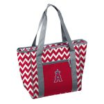Los Angeles Angels Chevron 30 Can Cooler Tote