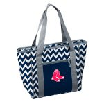 Boston Red Sox Chevron 30 Can Cooler Tote