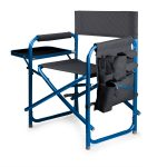 Waves Sports Director Chair With Side Table and Pocket by Picnic Time