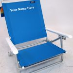 IMPRINTED JGR Value Aluminum Beach Chair