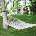 Algoma Net Double Size Cotton Rope Hammock
