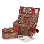 Glenloch Picnic Basket for 4 by Picnic Plus