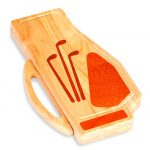 Golf Bag Design Cheese Board by Picnic Plus
