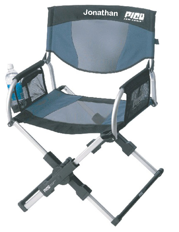 0d1baf12ed IMPRINTED Personalized Pico Compact Telescoping Arm Chair by GCI ...