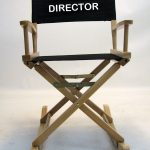 IMPRINTED Personalized Gold Medal Folding Rocking Directors Chair
