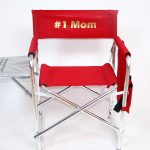 IMPRINTED Personalized Sports Directors Chair with Side Table