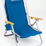 IMPRINTED Personalized Hi-Back Steel Backpack Chair by Rio Beach