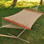 Algoma Net 12′ Polyester Caribbean Rope Hammock