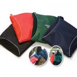 Outdoor Sports Fleece Blanket Cushion Combo