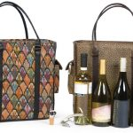 Wine Quad Bottle Carry Bag with Accessories