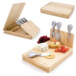 Asiago Cheese Set by Picnic Time