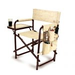 Botanica Sports Director Chair With Table and Pockets by Picnic Time