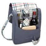 The Britannia 2 Bottle Wine Tote by Picnic Time