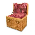 Chardonnay Wine Picnic Basket for 2 by Picnic Time